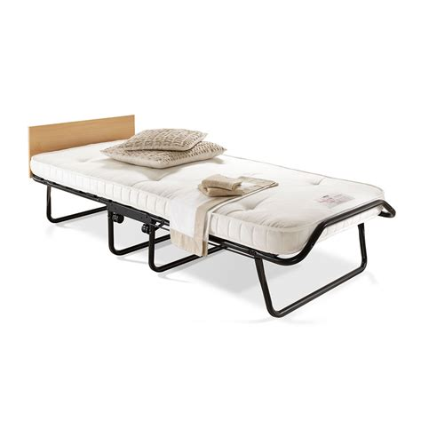 Folding Bed Single Royal Folding Bed With Pocket Sprung Mattress Single At Wilko