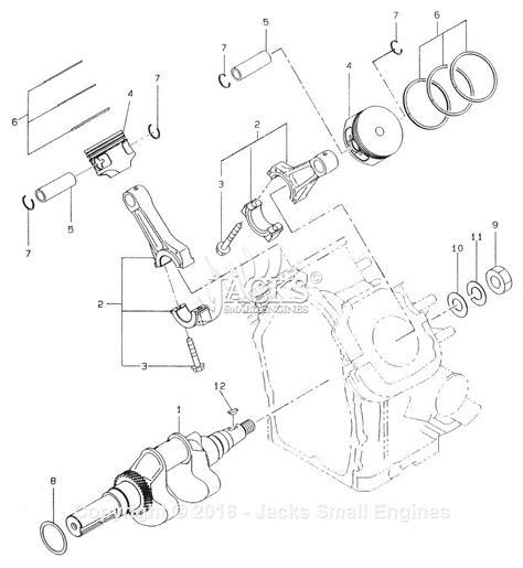 crankshaft parts diagram robin subaru eh63 parts diagram for crankshaft