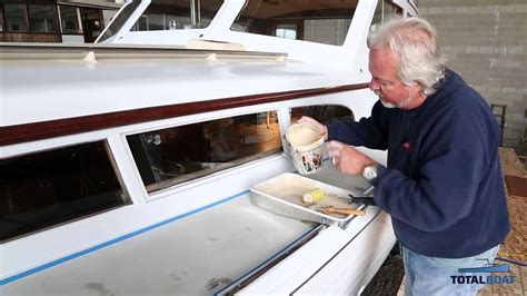 boat paint for decks totalboat totaltread non skid marine deck paint youtube