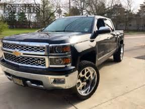 2014 Chevy Truck Custom Wheels Wheel Offset 2014 Chevrolet Silverado 1500