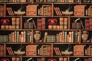 4 Bookcase Dekostoff Gobelin B 252 Cherregal