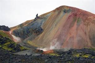 what color are mountains landmannalaugar colorful mountains filming