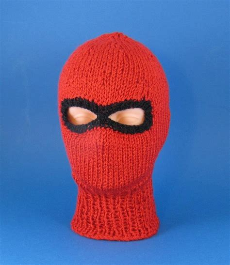 pattern white bandit mask price chunky ski mask balaclava knitting pattern by