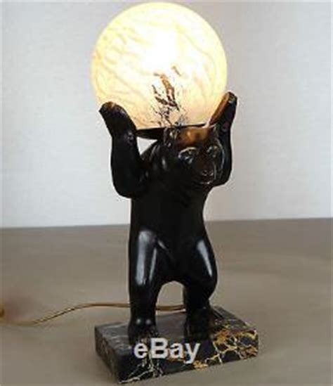 Eclairage Statue by 1920 1930 Irenee Rochard Statue Sculpture Le Animalier