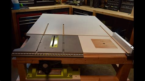 build  homemade table  extension   router