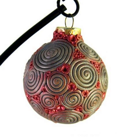 Handmade Ornaments For - unique handmade polymer clay ornaments family
