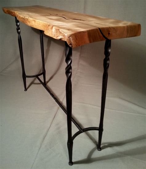 metal and wood entry table wood and metal foyer table trgn a63359bf2521