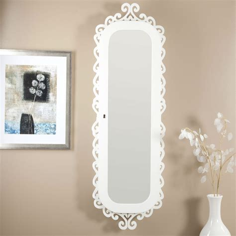 wall mirror jewelry cabinet wall mounted jewelry cabinet mirror armoire with gloss