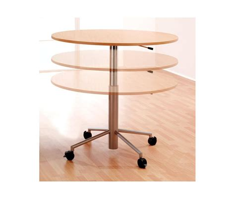 Adjustable Height Meeting Table Mind Height Adjustable Meeting Table
