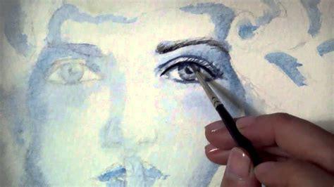 dibujos para pintar con acuarelas como pintar un rostro con acuarelas pintura con