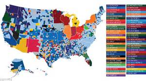 us map by college football incredibly detailed map of america shows march madness