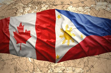 Canada Phl To Exchange Trade Missions Philippine Philippines Canada Flag