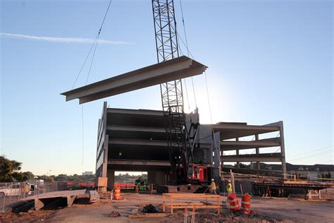 Parking Garage Construction by On The Parkway Parking Garage