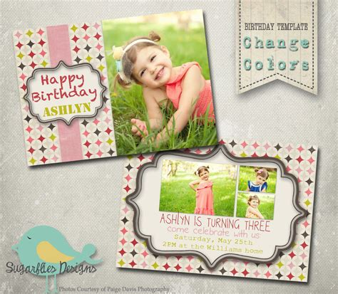 birthday invitation templates photoshop birthday card template photoshop gangcraft net