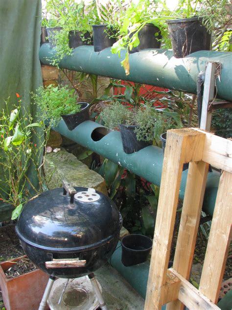 Pvc Pipe Vertical Garden Vertical Garden Using Pvc Pipe Ordinary 2 Extraordinary