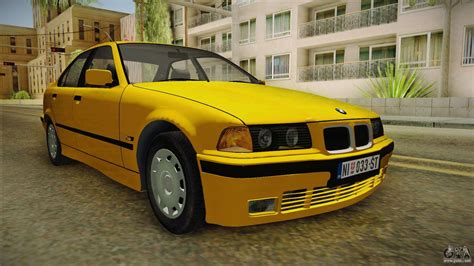 Bmw Mod For Gta San Andreas by Bmw 320i E36 For Gta San Andreas