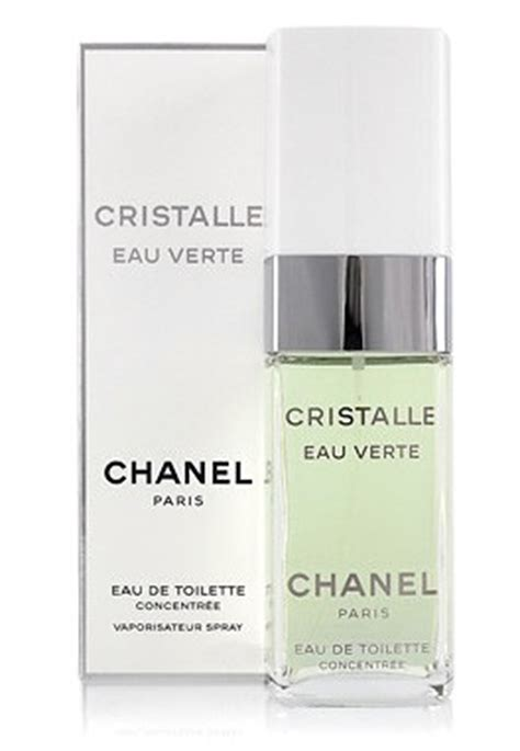 Chanel Cristalle Eau Verte 718 by парфюмерия Cristalle Eau Verte Chanel туалетная вода