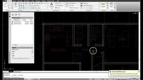 autocad floor plan tutorial autocad tutorial 16 second floor plan mp4 youtube