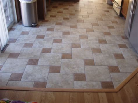 kitchens floors tile tile installations contrast colors