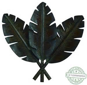 new uma enterprises 22942 metal palm leaf wall decor 31 by