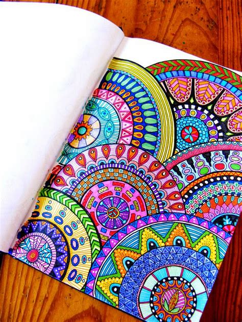 doodle designs to colour beautiful colored zentangle doodles bilder land