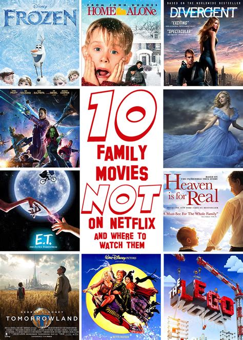 family movies 10 family friendly movies that aren t on netflix and where