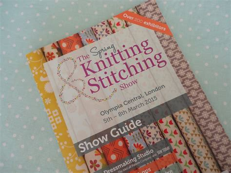 knitting show olympia a day out the knitting and stitching show