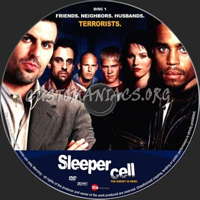 Sleeper Cell Tv Series by Sleeper Cell Dvd Label Dvd Covers Labels By Customaniacs Id 47157 Free Highres