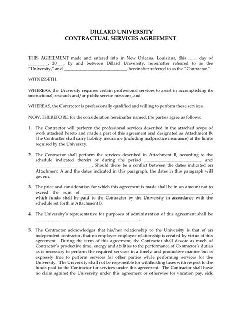 professional contract template professional services agreement template professional