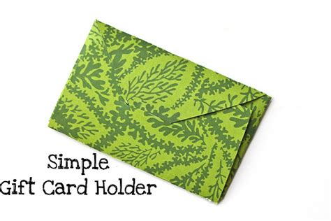 Board Card Holder Template by Gift Card Holder Template Gift