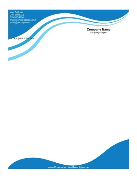 business stationery templates the importance of letterheads in business letters free