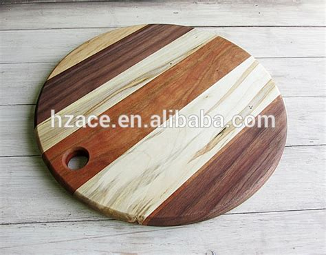 Multiple Wooden Cutting Board Round Shape Joint Wood