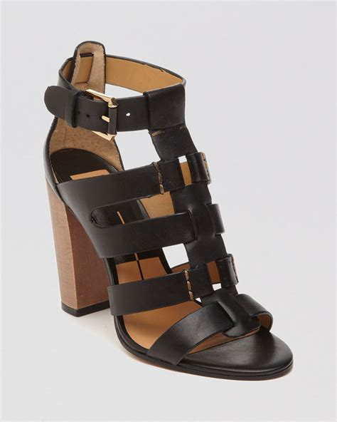 high heeled gladiator sandals dolce vita open toe gladiator sandals niro high heel in