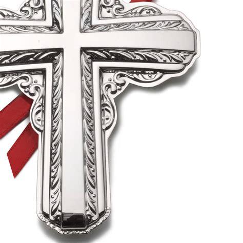 towle ornaments towle silver cross 2016 towle ornament