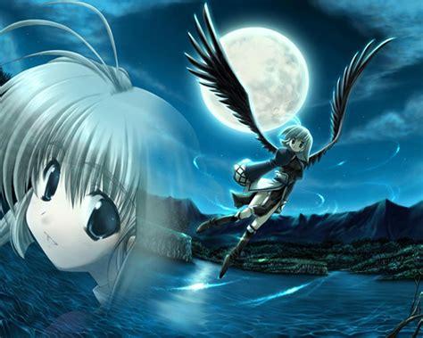 anime girl angel wings anime angel wings hd wallpaper anime angel wings hd