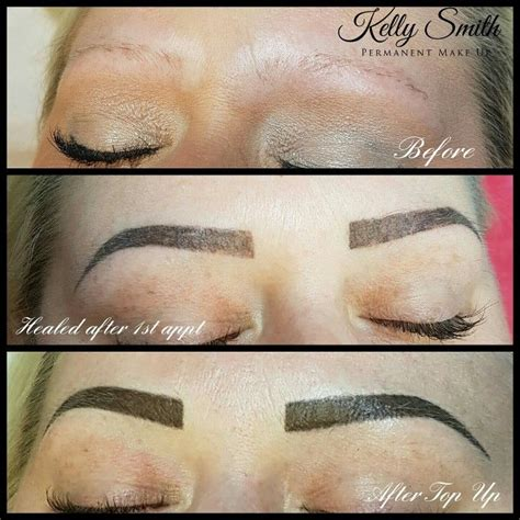 tattoo eyebrows process 44 best semi permanent make up images on pinterest semi