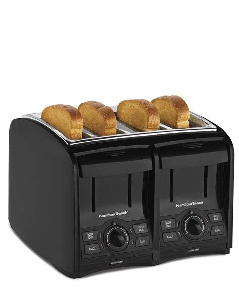 Toasters 4 Slice hamilton 4 slice cool touch toaster kitchen dining