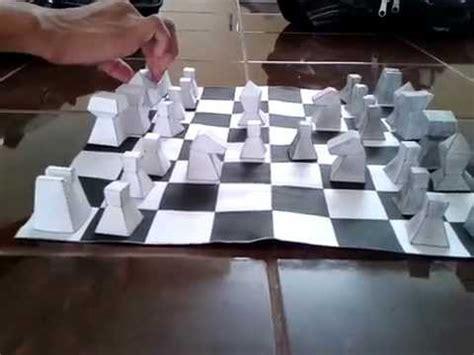 como hacer las piezas del pesebre en material reciclable piezas de ajedrez de papel replica aguirre abad youtube