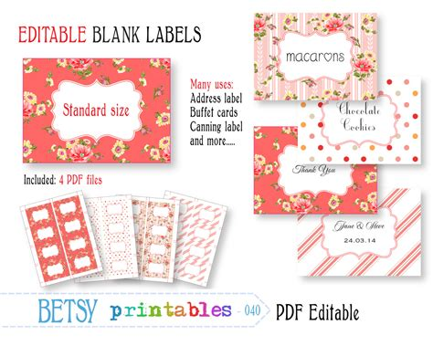editable label templates free editable labels new calendar template site