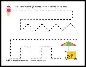 i is for ice cream letter i printables