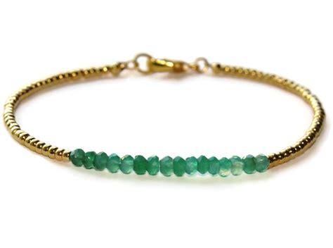 gold beaded bracelet green onyx gemstone bracelet gold filled beaded bracelet