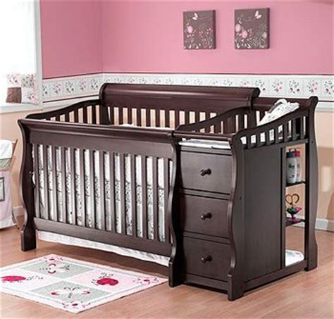 Tuscany Crib And Changer by Sorelle Princeton 4 In 1 Convertible Crib With Changer