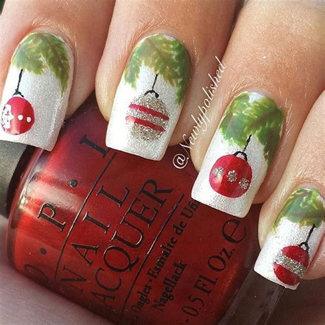 65 christmas nail art ideas nenuno creative