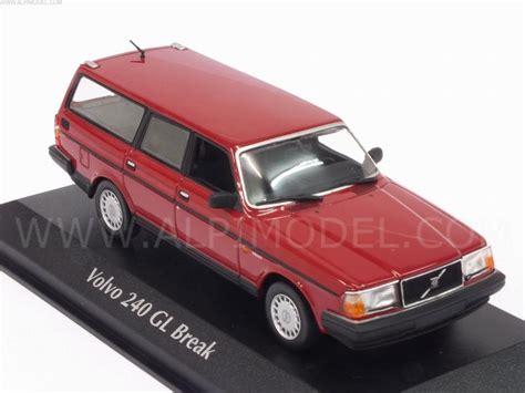 minichamps volvo  gl break  red maxichamps edition  scale model