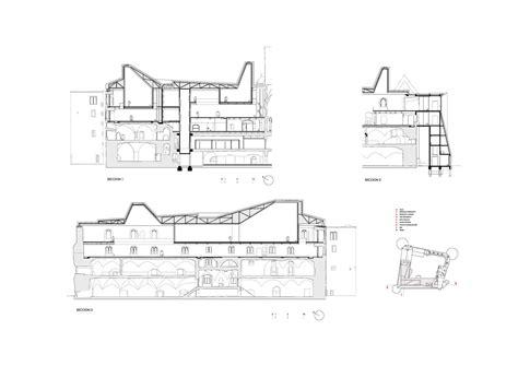 Museum Floor Plan Dwg by Galer 237 A De Ampliaci 243 N Del Museo Moritzburg Nieto Sobejano Arquitectos 9