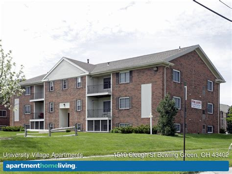 one bedroom apartments in bowling green ohio university village apartments bowling green oh
