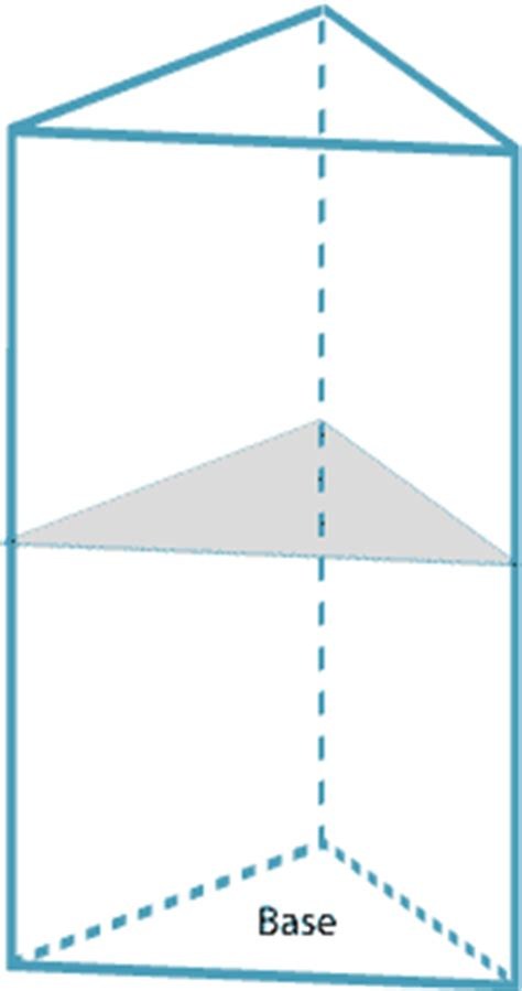 triangular cross section teacher resources constructions of prisms and pyramids