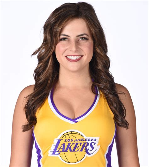chandler alexis tattoo 2017 18 laker girls los angeles lakers