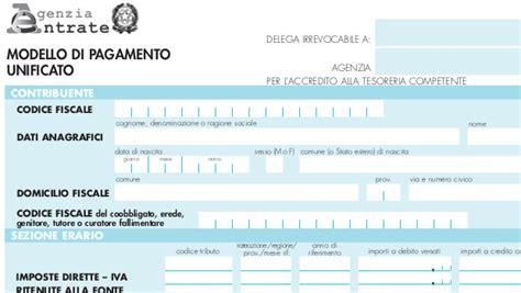 ufficio delle entrate pinerolo dichiarazione di successione in uso il modello f24 per i