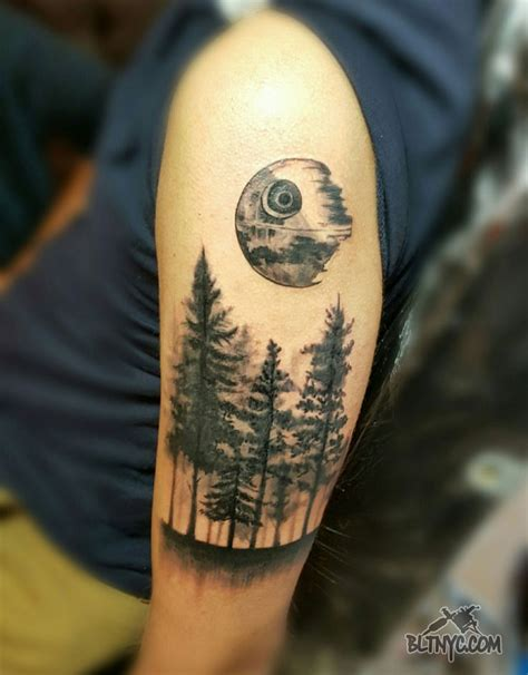 25 best ideas about death star tattoo on pinterest star